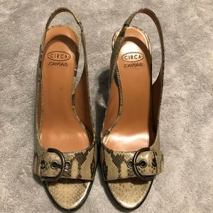 Circa Joan and David New Leather Shoes Size 7